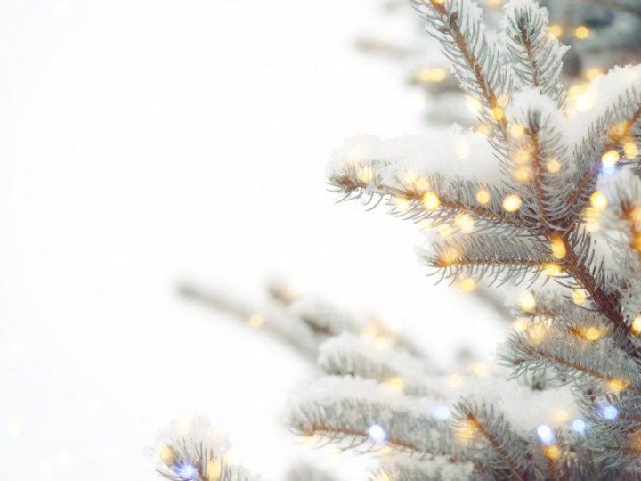 Önska en god jul med ett brandat julkort